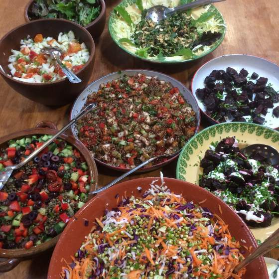 Cafe Salad Courses